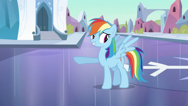 File:Rainbow Dash 'Pretty good mood' S3E2.png