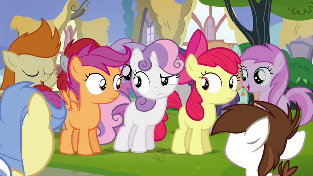 File:Cutie Mark Crusaders unsure S4E15.png
