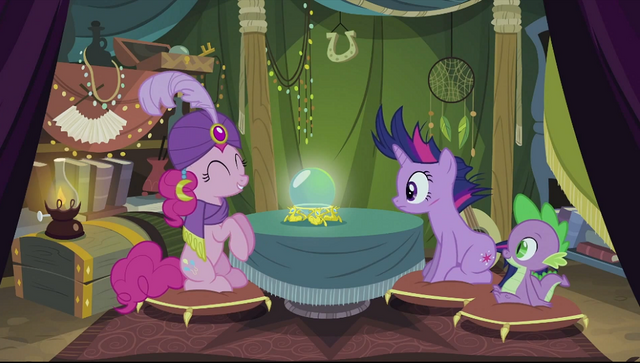 """File:Pinkie Pie's """"mystical orb of fate's destiny"""" S2E20.png"""