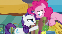 "Rarity ""impossible to shop for!"" S6E3"