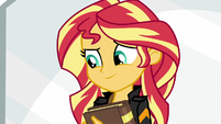 Sunset understands not to rely on Princess Twilight EG3
