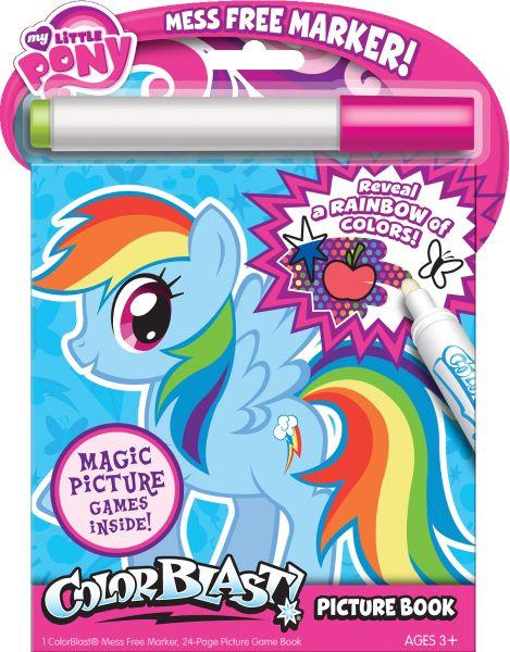 Image Rainbow Dash colouring bookjpg My Little Pony