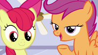 "Scootaloo ""but it just comes when it comes!"" S6E4"