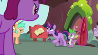 Twilight 'while I try to figure something out' S3E03