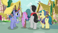 Fillydelphia collector ponies walking away S7E14.png