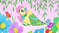 Fluttershy in her gala dress S1E14.png