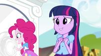 Pinkie touches the portal EG2