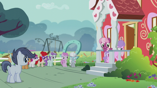 File:Diamond Tiara heads to the schoolhouse to recount the votes S5E18.png
