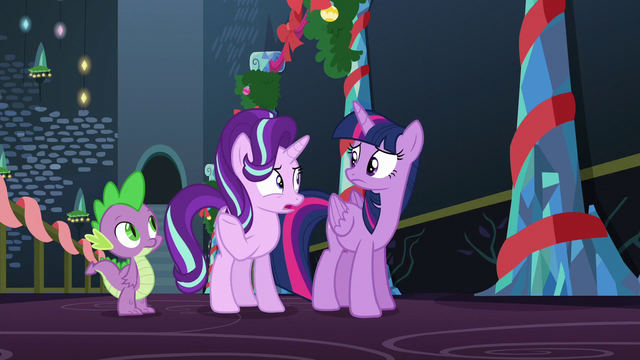 """File:Starlight """"I think to most ponies it's just an excuse for silly songs and fun"""" S6E8.png"""