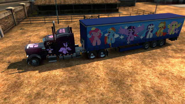 File:FANMADE ETS2 Peterbilt 379 EXHD Twilight Skin 5.png