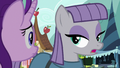 "Maud Pie deadpan teasing ""am I?"" S7E4.png"