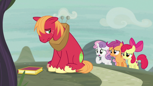 File:Cutie Mark Crusaders ask Big Mac if he's okay S7E8.png