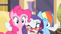 Rarity '...in flames!' S4E08