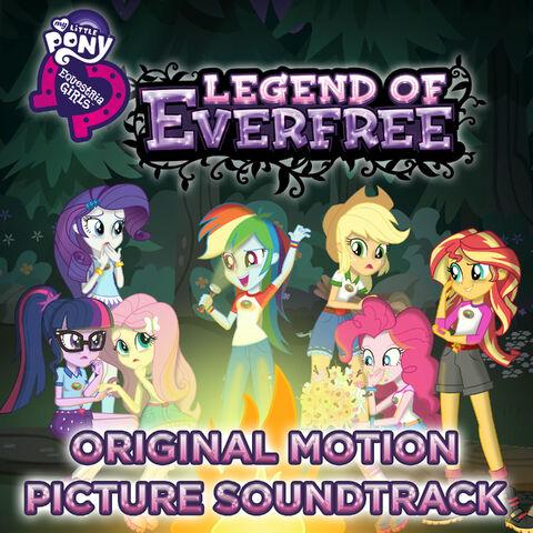 File:My Little Pony Equestria Girls Legend of Everfree soundtrack album cover.jpg