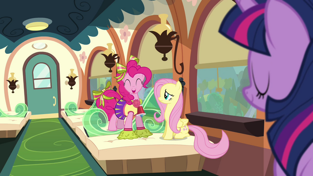File:Pinkie Pie 'We're gonna be' S4E10.png