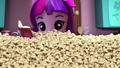 Twilight Sparkle buried in popcorn EGM2.png