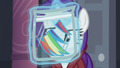 A piece of Rainbow's mane cut in a straight line S5E15.png