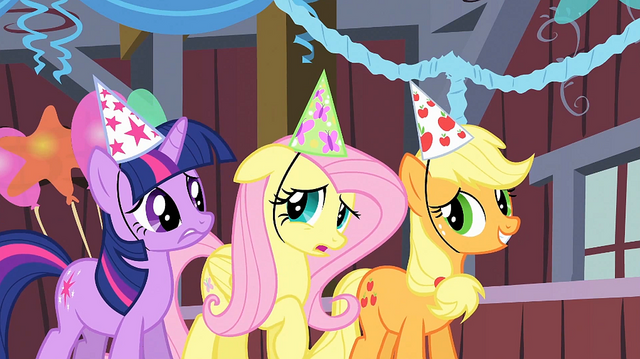 File:Fluttershy 'I really thought she'd be more excited' S1E25.png