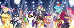 MLP The Movie Prequel combined sub covers by Tony Fleecs