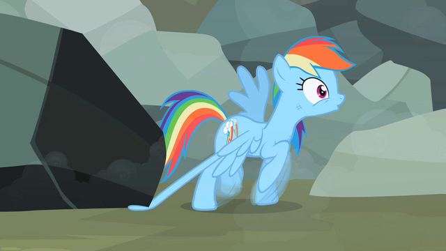 File:Rainbow Dash's feather is trapped S2E7.png