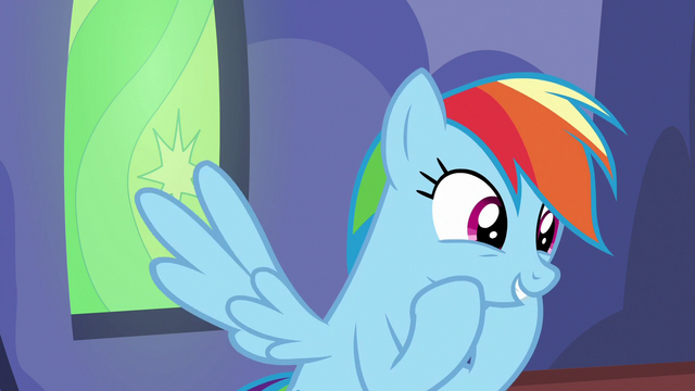 """File:Rainbow Dash """"catch up with some Daring Do"""" S6E24.png"""