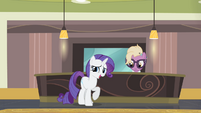 Rarity 'There you all are!' S4E08