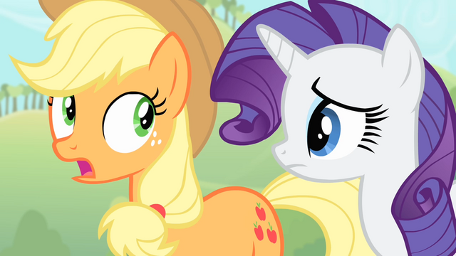 File:Applejack 'Vampire fruit bats are attackin' Sweet Apple Acres!' S4E07.png