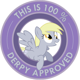 File:FANMADE Derpy approved.png
