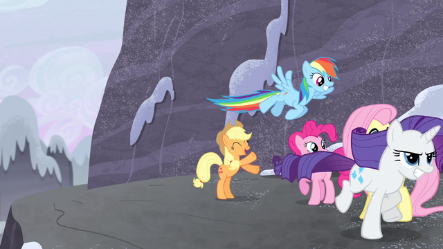 File:Mane Six full speed ahead S5E2.png