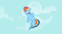 Rainbow Dash derp face S02E08