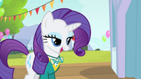 Rarity 'a final run-through tomorrow before the big event' S4E14