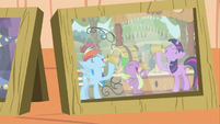 Twilight, Rainbow, and Spike cider season photo S2E21