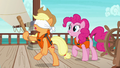 Applejack stumbling around dizzy S6E22.png