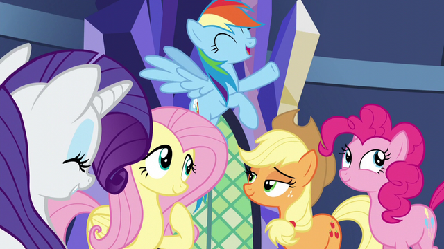 File:Twilight's friends happy with their contributions to the castle S5E03.png