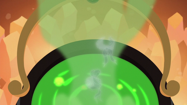 File:Two ghost-like Hearth's Warming items pop out of the cauldron S06E08.png