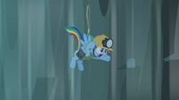 Rainbow falls down S5E8