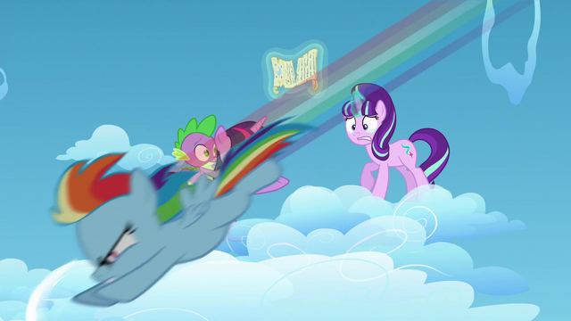File:Starlight sees young Rainbow racing S5E26.png