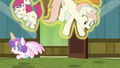 Flurry Heart levitates Redheart into the air S7E3.png