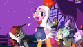 Pinkie Pie chicken costume cluck Facebook preview S2E04.png