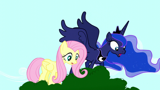 File:Fluttershy and Luna spot the Tantabus S5E13.png