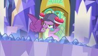 """Spike """"right into these hot little claws"""" S5E1"""