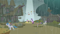 Twilight Sparkle bright patch amongst the rain S1E3