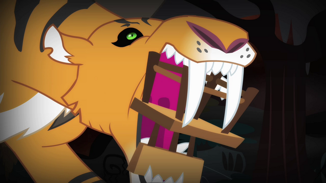 File:Chair in chimera's tiger head's mouth S4E17.png