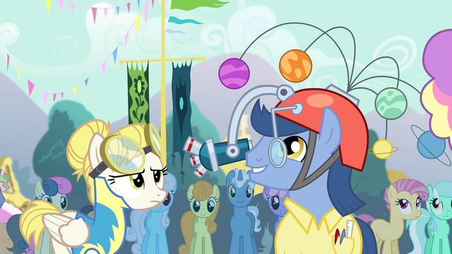File:Pony wearing a hat S4E13.png