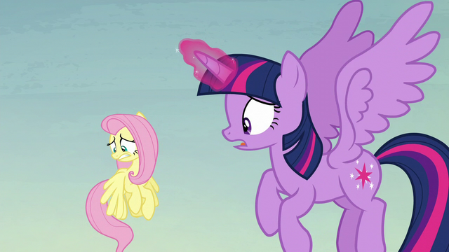 "File:Twilight ""what in Equestria is happening?"" S5E23.png"