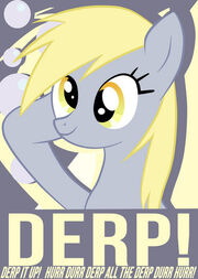 FANMADE Derp Poster