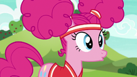 Pinkie Pie in mild awe S6E18