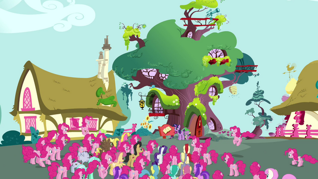 File:Pinkie Pie clones forming a crowd S3E03.png