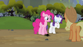 Rarity clearing throat S3E9.png