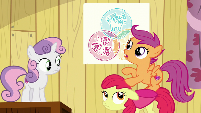"File:Scootaloo ""Ponies with cutie mark problems are hard to find"" S6E4.png"